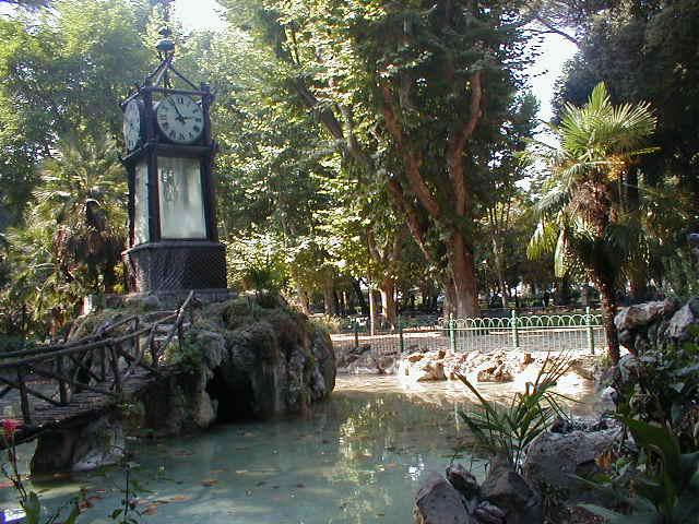 Foto di roma villa borghese museo borghese orologio di villa
