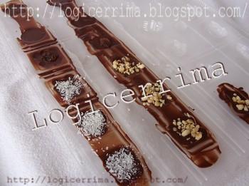 [ Cioccolatini per Natale homemade - procedimento casalingo ]