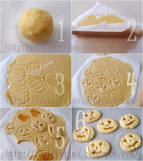 [ Biscotti di Pasta Frolla per Halloween ]