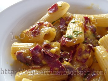[ Carbonara Light con Bresaola ]