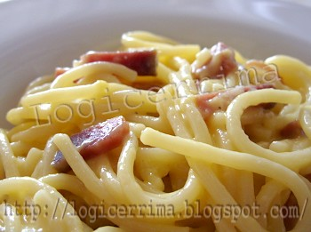 [ Carbonara Light con Speck ]