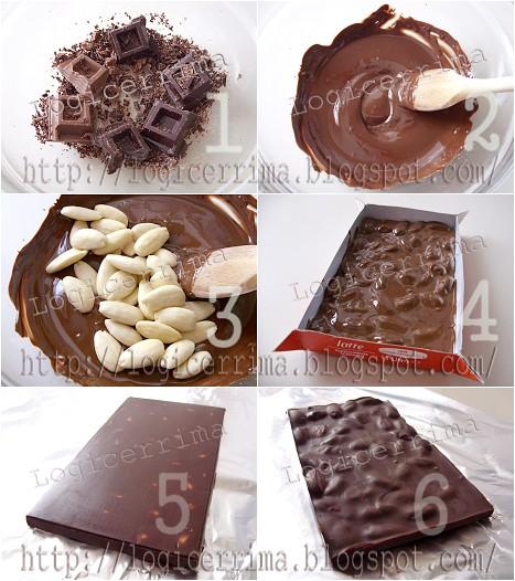 [ Tavoletta di Cioccolato passo passo illustrato ]