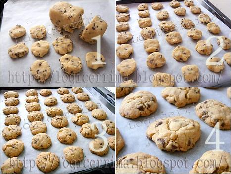 [ Cookie alla Nocciola - ricetta fotografata ]