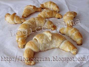 [ Croissants con Sfoglia surgelata  ]