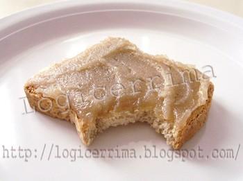 [ Fetta Biscottata Integrale con Marmellata di Castagne = 75 kcal ]