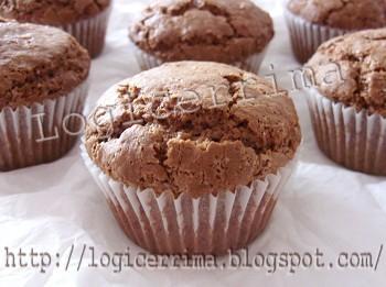 [ Muffin al Cioccolato senza Uova ]
