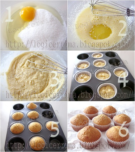 [ Muffins al Cocco - ricetta passo passo ]