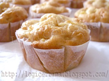 [ Muffin allo Yogurt e Mele ]