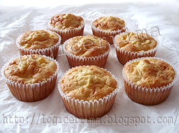 [ Muffins alle Mele e Panna ]