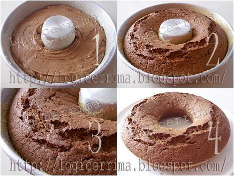 [ Torta senza Burro con Cioccolato e Panna ]