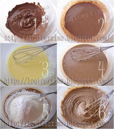 [ Torta al Cioccolato senza Burro e senza Olio ]