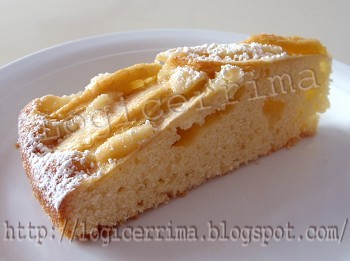 [ Torta di Mele Light con Panna ]