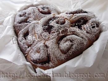 Ricetta torta di rose con pasta frolla