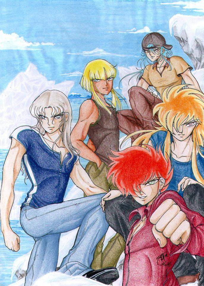 Guerreros de Asgard (imagenes en parejas o grupos) - Página 2 GodWarriors