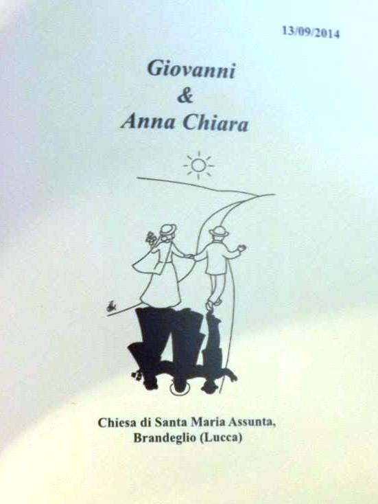 Matrimonio di Giovanni e Anna Chiara 2014