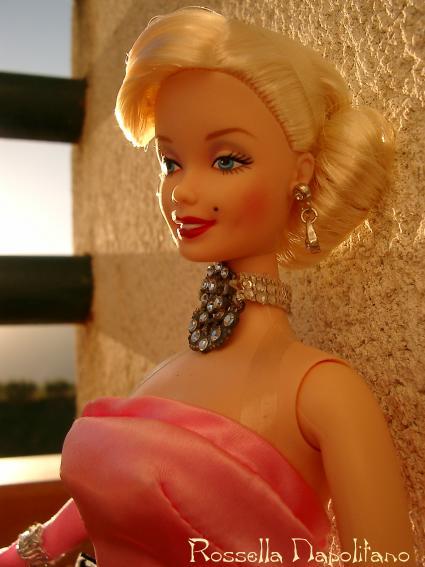Barbie as marilyn gentlemen prefer blondes - Barbie colorazione pagine libero ...