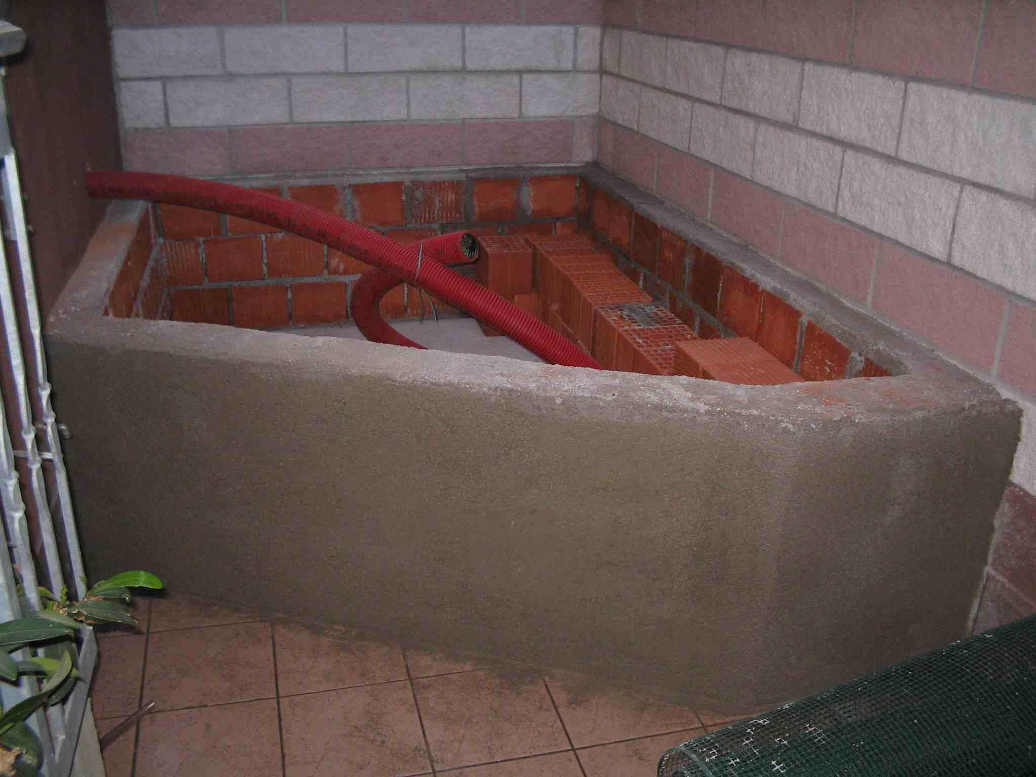 Vasca Da Bagno In Muratura : Costruire vasca da bagno in muratura cuore di legno vasca da