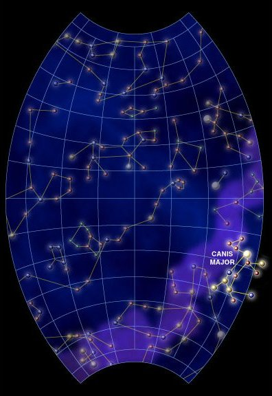 sirius star map by the dippers - photo #13