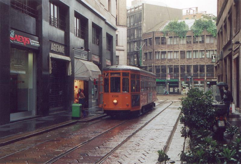 central station milano the urban tramways