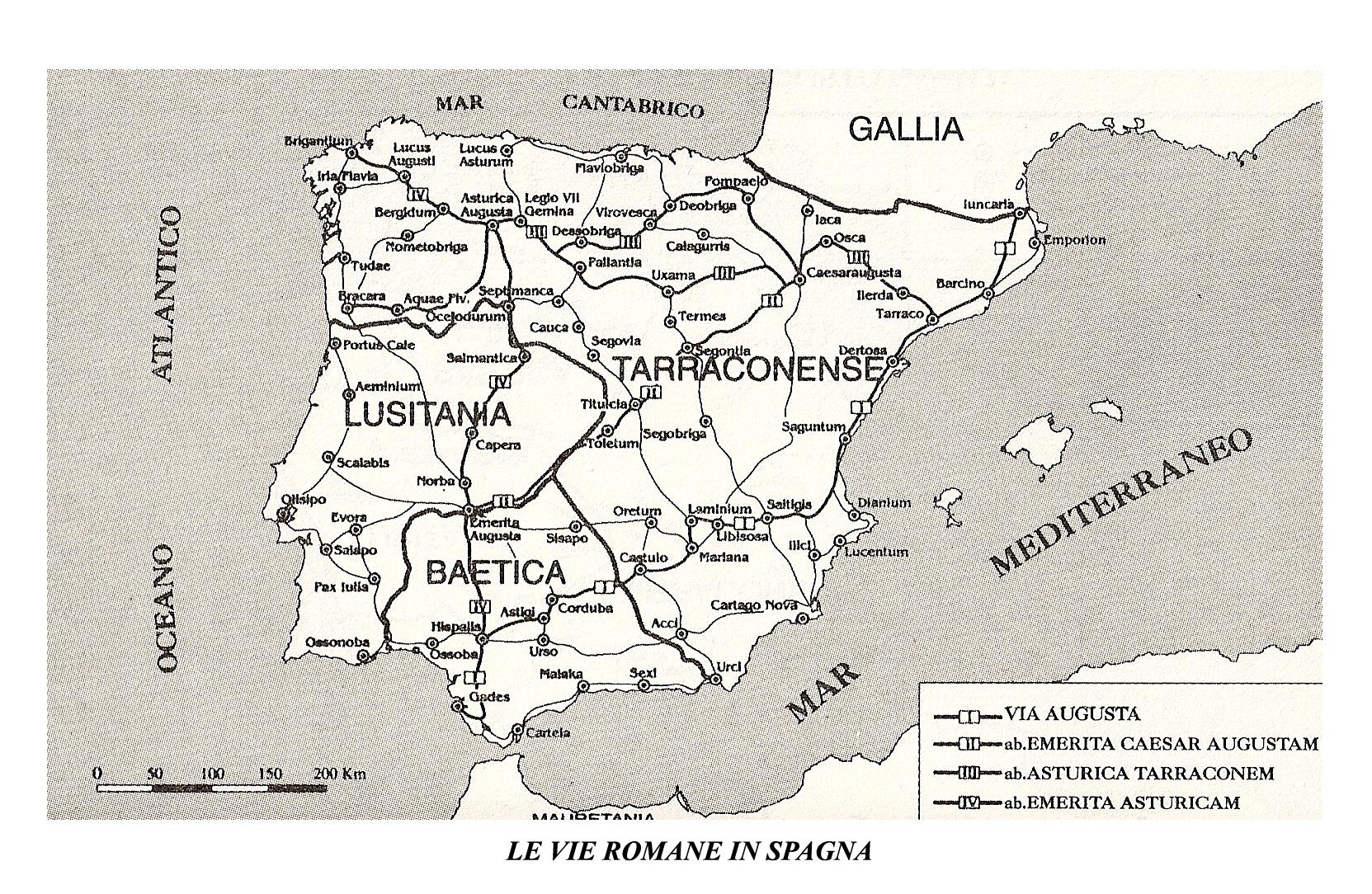 Cartina Spagna Romana.Atlante Storico Della Spagna