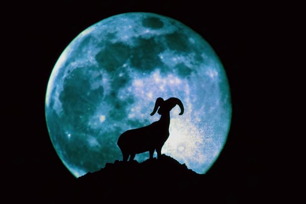 Luna in Ariete
