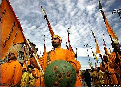 Ashura a Karbala. Iraq