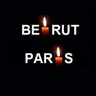 Beirut 12.11.2015 - Parigi 13.11.2015