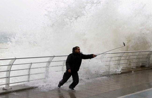 Beirut. Storm