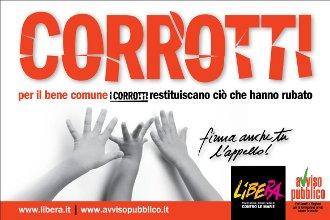 Corrotti. Libera. Dicembre 2010