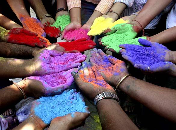 Festa di Holi. India