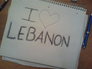 I love Lebanon