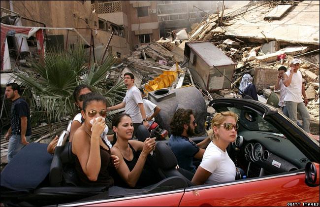 S. Platt. Beirut Southern Suburbs summer 2006
