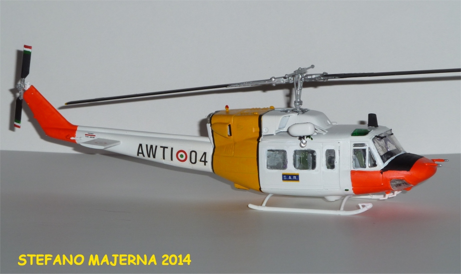 Elicottero Ab 212 : Stefano majerna sezione elicotteri