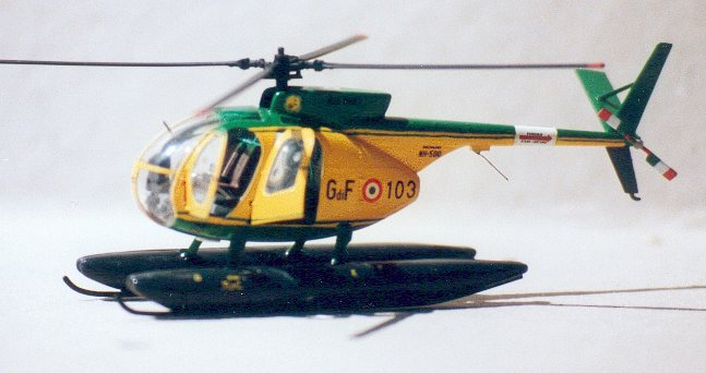 Elicottero Nh500 : Stefano majerna sezione elicotteri