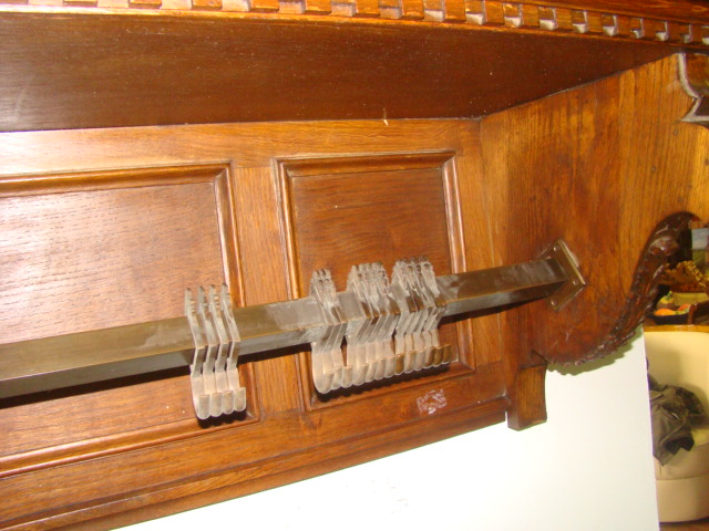 Appendiabiti Massello Rovere Cricket : Appendiabiti da muro in rovere massello stile