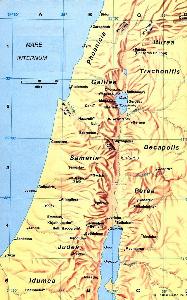 Conosciuto Storia della Palestina nel I secolo d.C. DC73