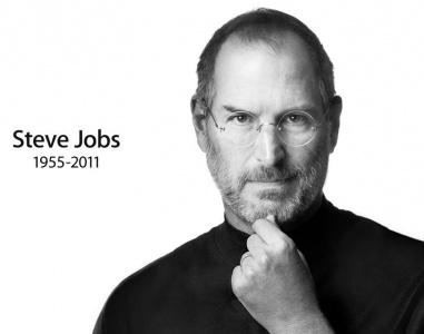 Foto di Steve Jobs dal sito Apple
