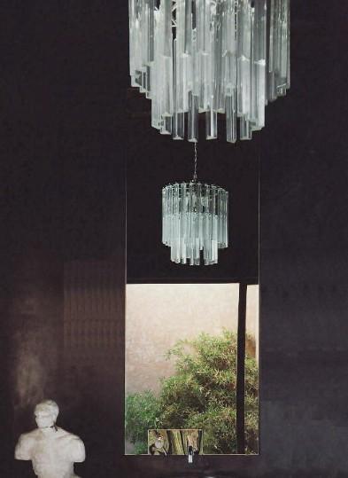 Lampadari in vetro for Lampadari contemporanei