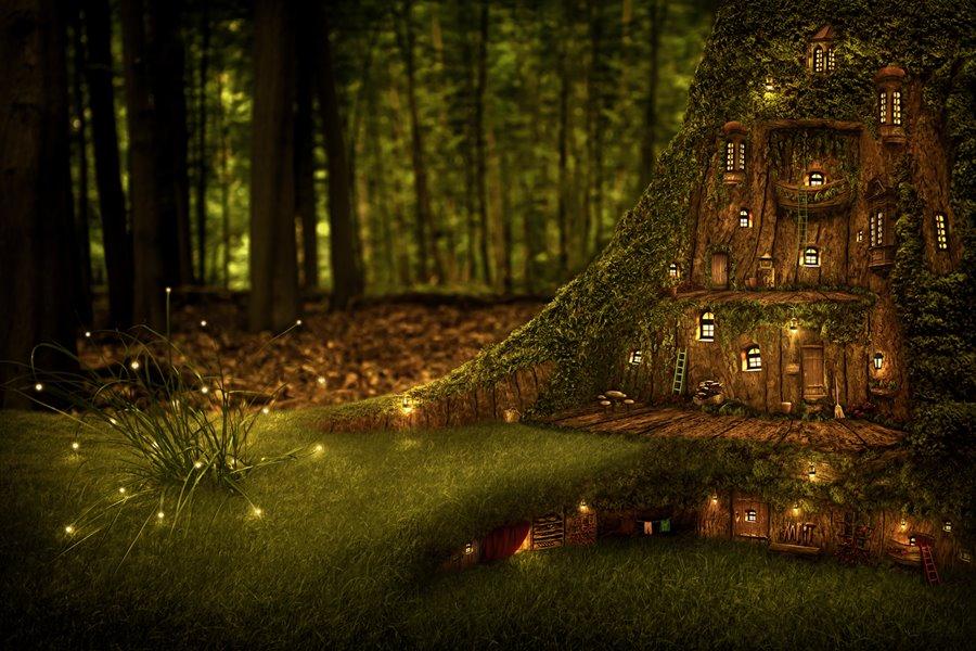 E si continua con la magia del bosco ma stavolta con gli for Case moderne nei boschi