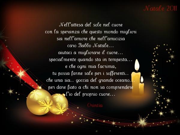 Cos E Il Natale Frasi.Caro Babbo Natale Ti Scrivo Su Lady Juliette