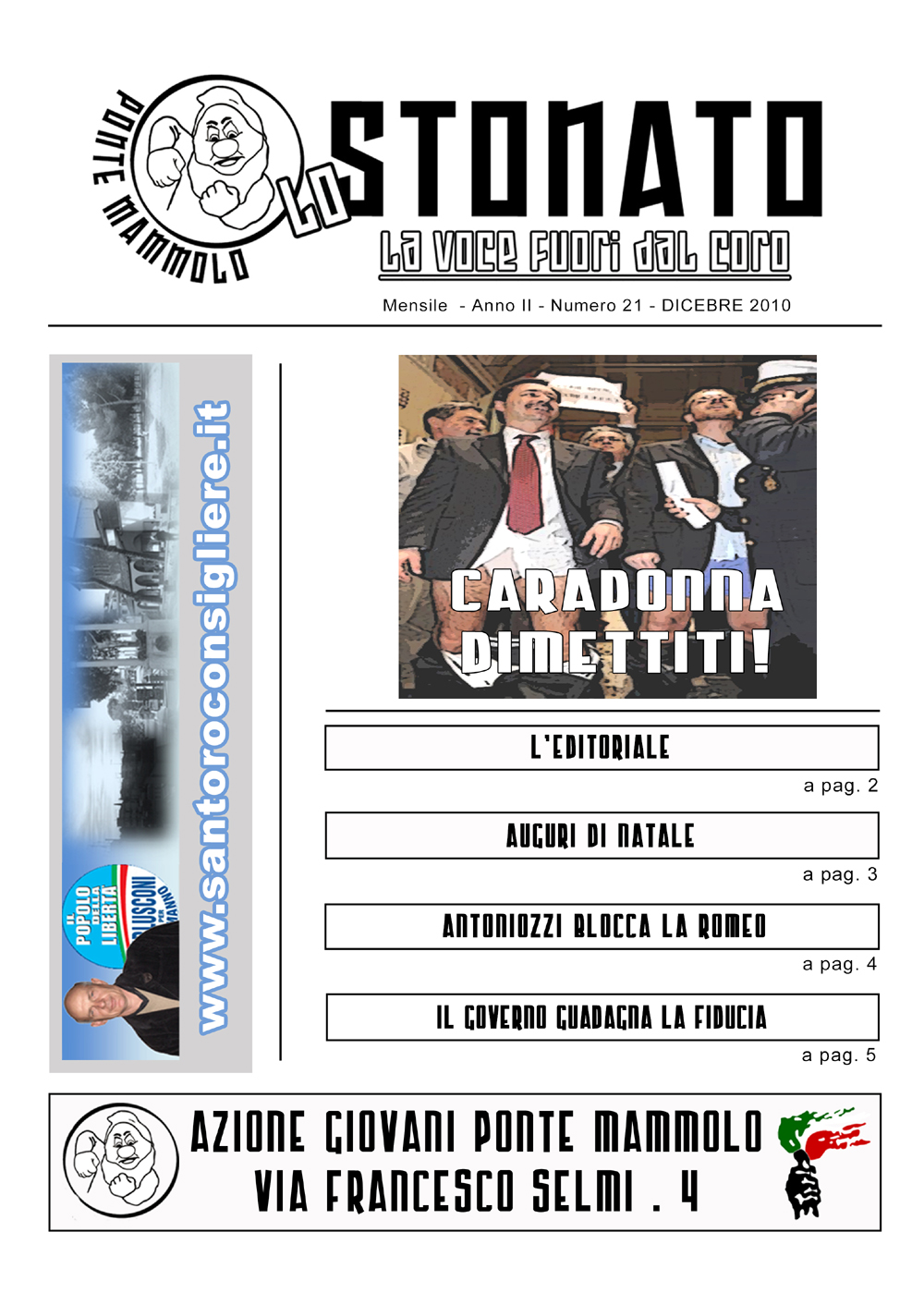 Lo Stonato - DICEMBRE 2010
