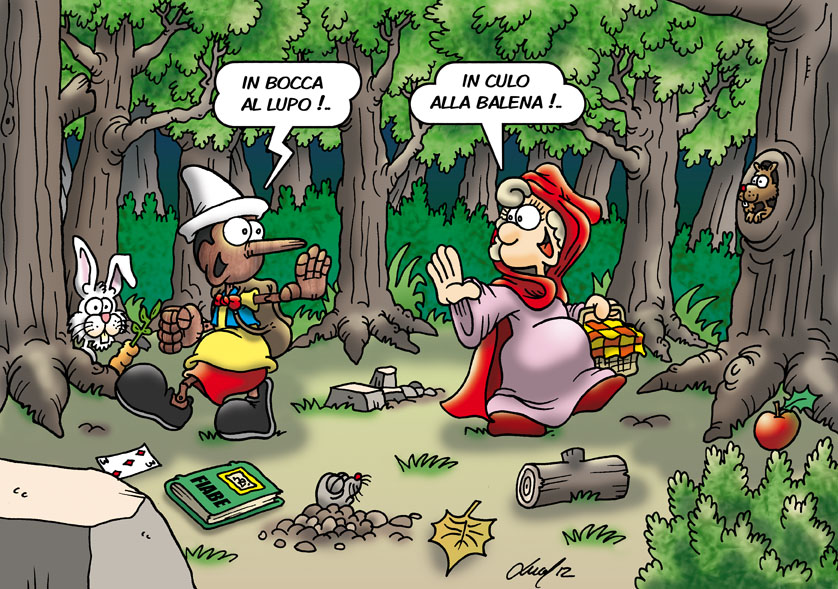 Pinocchio e Cappuccetto Rosso