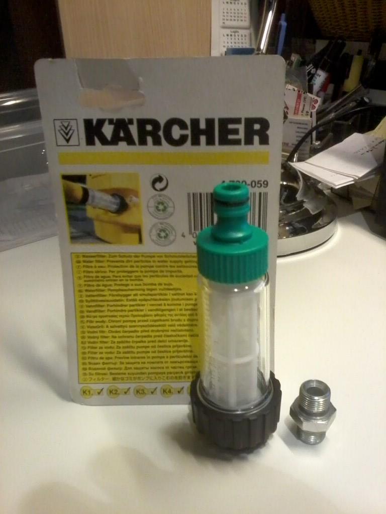 Manutenzione idropulitrice calcare olio filtri ecc - Porta acqua per termosifoni ...