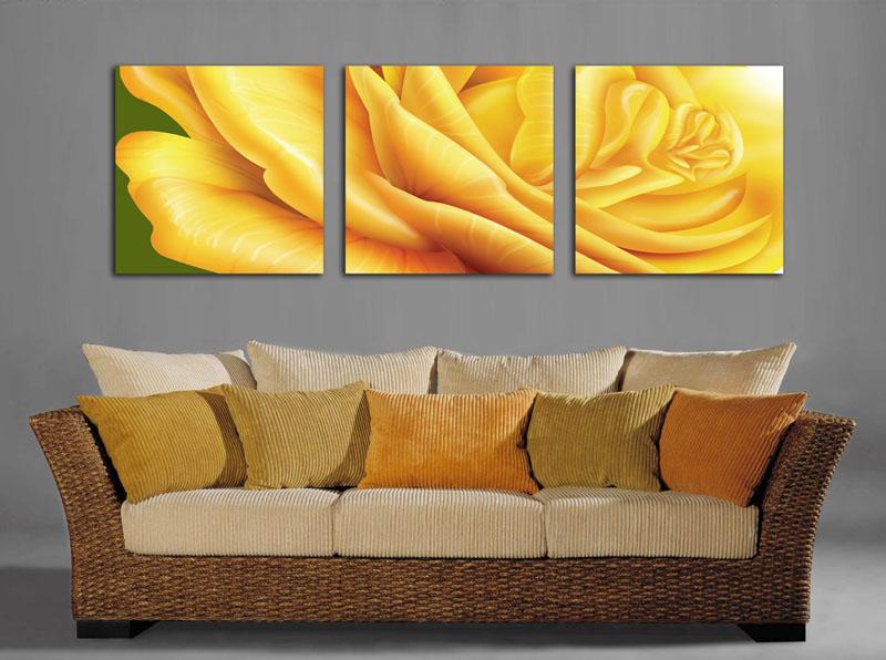Quadri moderni arredo casa ufficio salotto fiori stampe su for Quadri arredo salotto