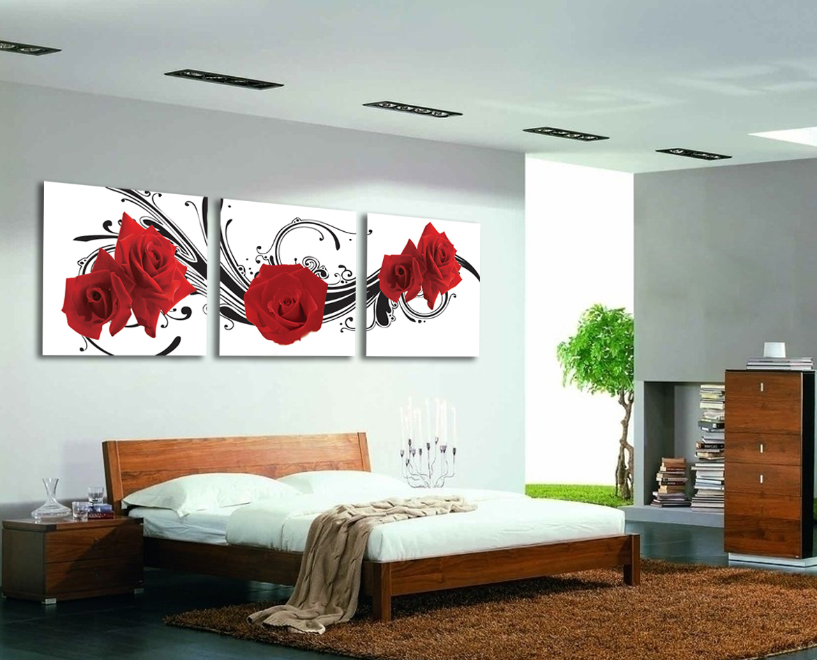 Quadri moderni stampe su tela con telaio arredo casa for Quadri salotto