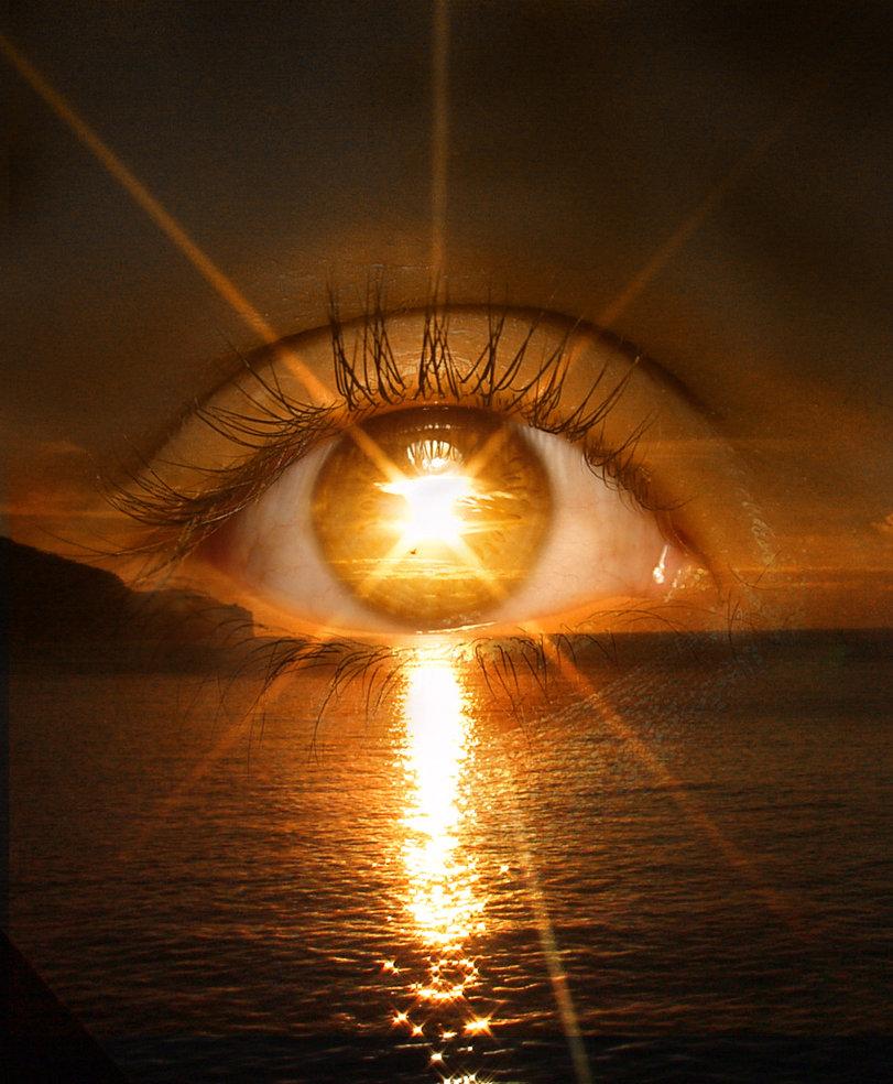 occhio sul mare