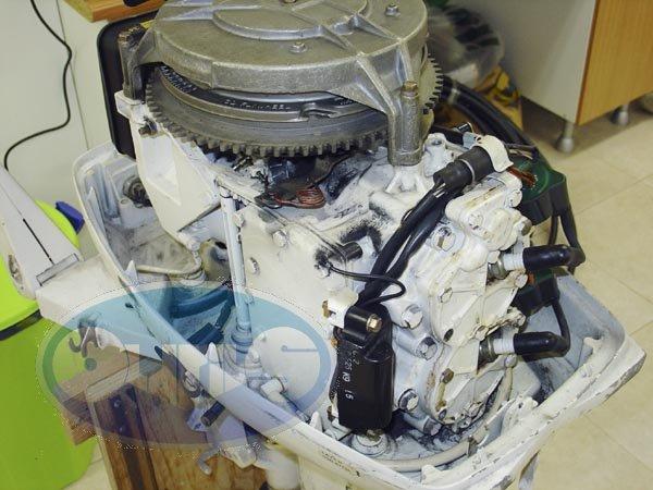 Schema Elettrico Johnson : Motorino avviamento johnson la cura dello yacht