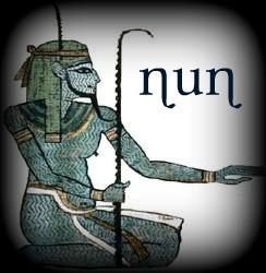 Risultati immagini per nun divinità egizia