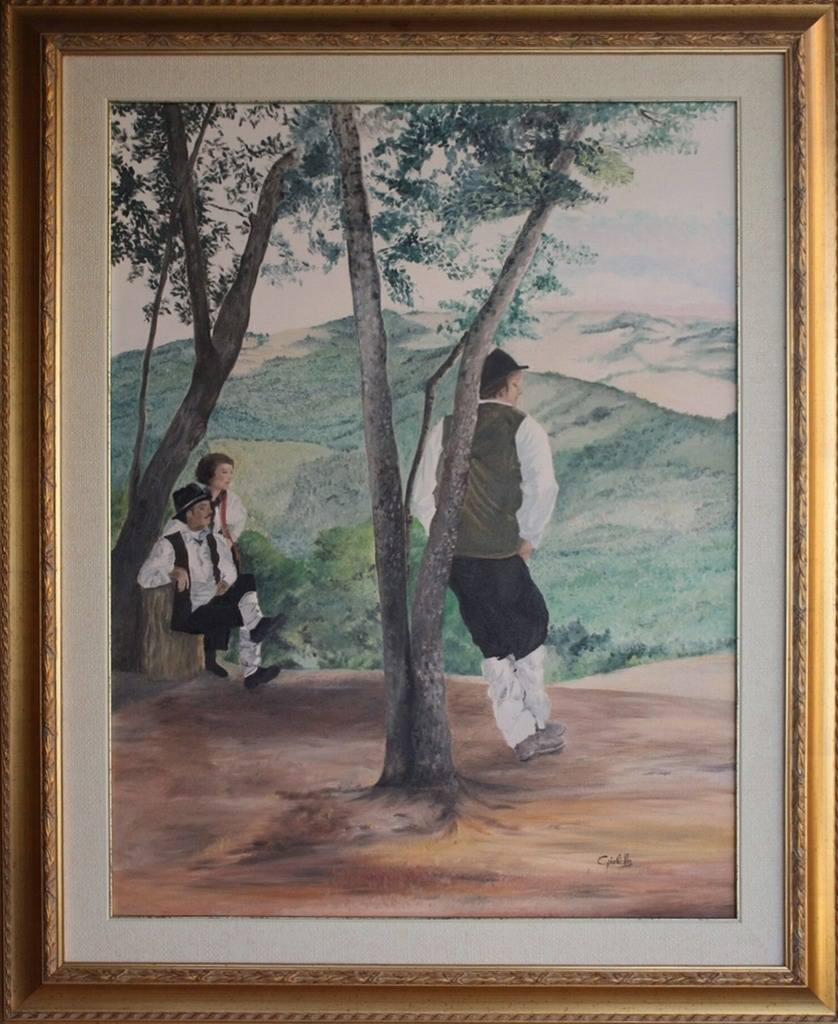 Giulietta Laura Valentino, la attesa, parco_della_grancia