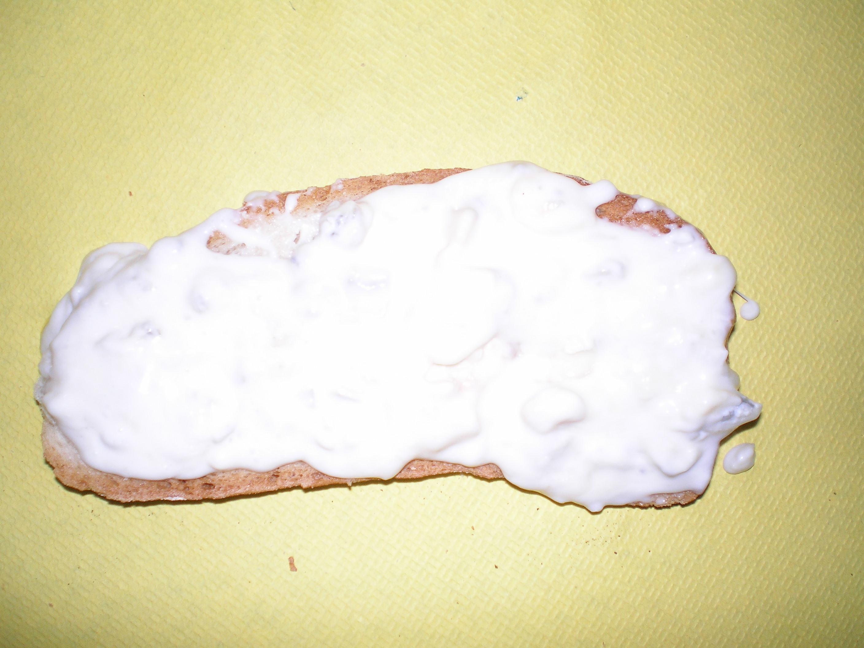 Bruschetta al gorgonzola